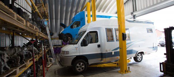 Motorhome Gearbox Repairs in Salford